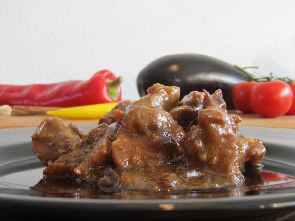Ajam paniki - Salas Indische catering