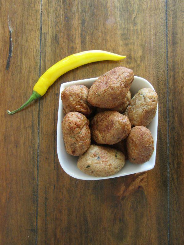Frikadel goreng - Salas Indische catering