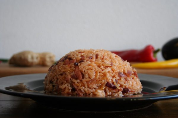 Nasi goreng pedis - Salas Indische catering