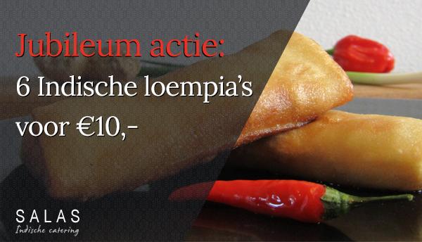 Indische loempia's - Salas Catering